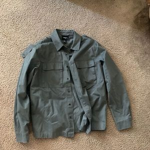 Men's jacket (dark green)